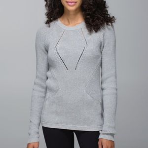 Lululemon The Sweater The Better Grey Size 6